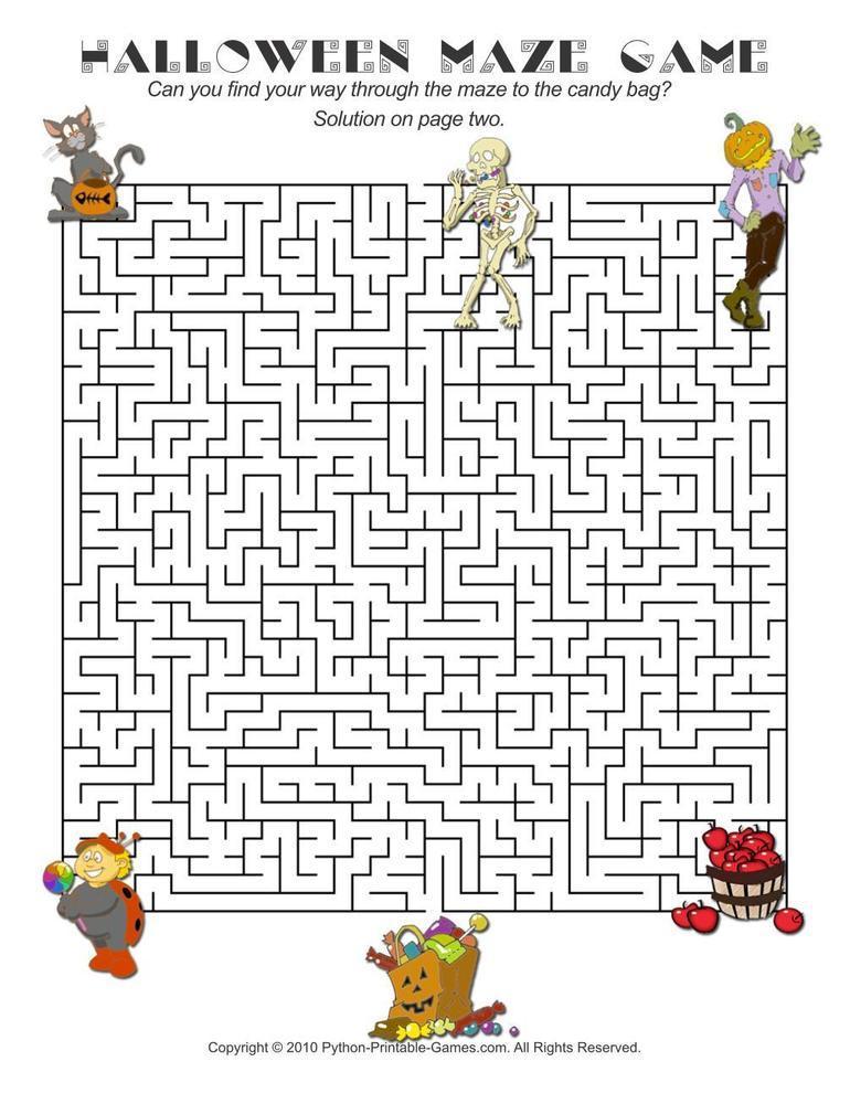 Halloween: Maze