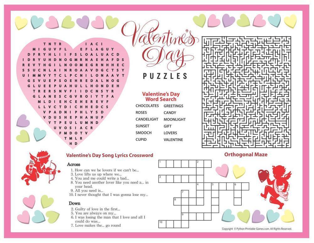 Valentine's Day: Puzzles