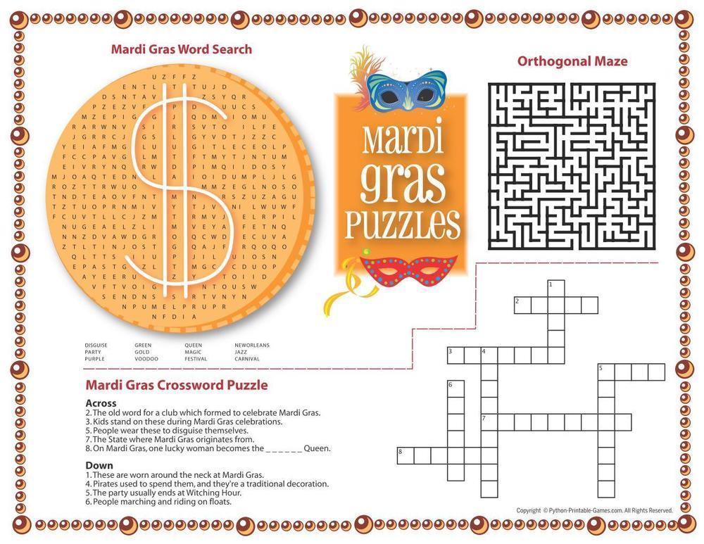 Mardi Gras: Puzzles