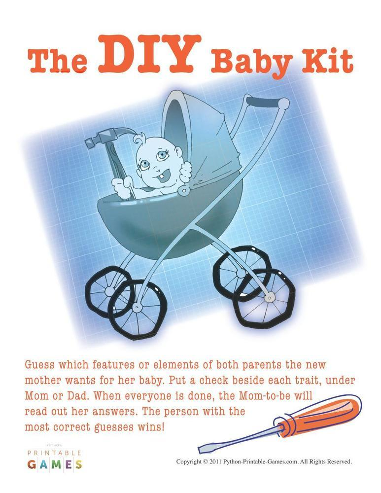 Baby Shower: The DIY Baby Kit
