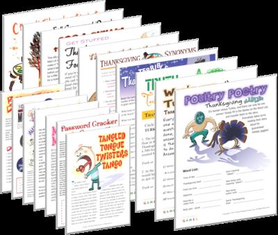 photo regarding Printable Thanksgiving Games identified as Printable Thanksgiving Game titles - Print Game titles At present