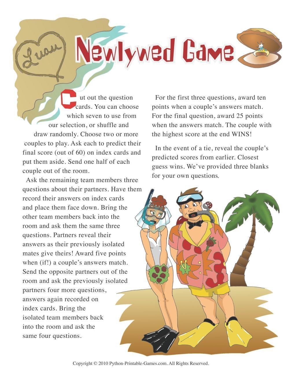 image relating to Printable Luau Party Games identify Hawaiian Luau Get together: Newlywed Activity Thoughts