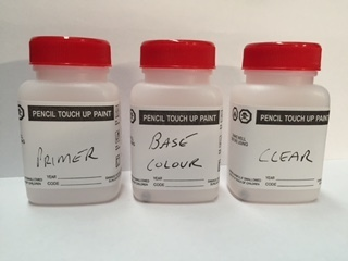 Base Colour ,Clear & Primer 35ml Brush Bottles 00021