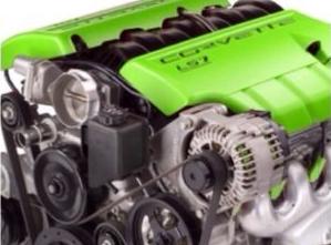 Engine heat paint - Lime 00035