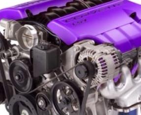 Engine heat paint - Purple 00036