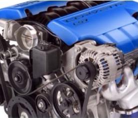 Engine heat paint - Blue 00040