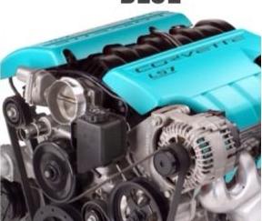 Engine heat paint - Teal 00042