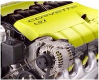 Engine heat paint - Yellow 00038