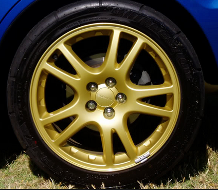 Factory Gold - WRX Wheels 00059