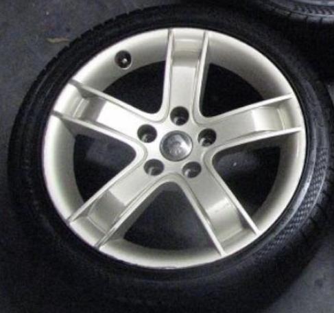 HSV Capri Silver Wheel Paint 00061