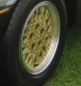 Ford ESP Snowflake Gold Wheel Paint 00062