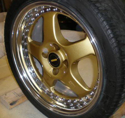 Simmons Gold Wheel Paint 00063