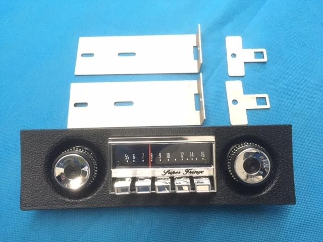 XW XY GT SUPERFRINGE Stereo bracket kit . 00075