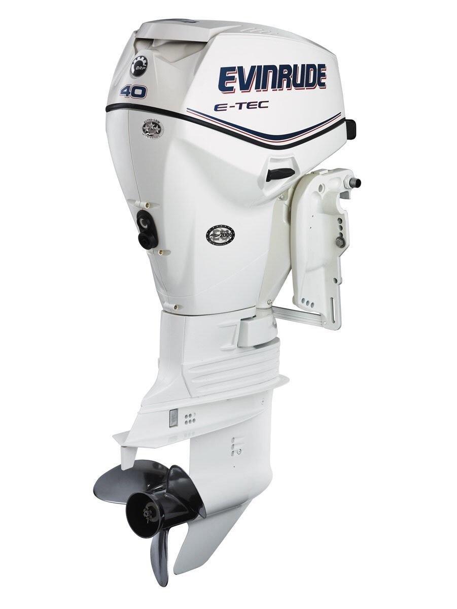 Evinrude BRP Outboard - Etec White 00101