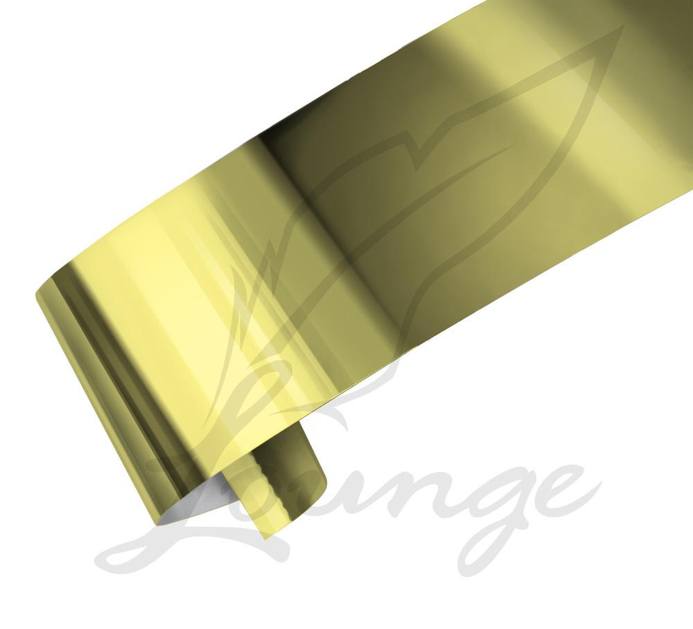 Nageldesign Folie Gold