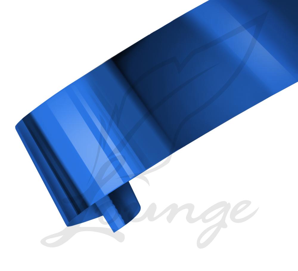 Nageldesign Folie Blau