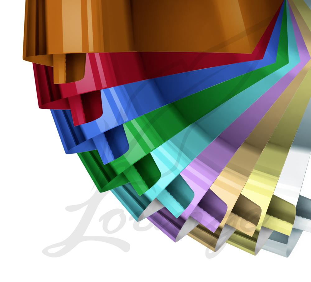 Folien Set bestehend aus 11 verschiedenen Farben