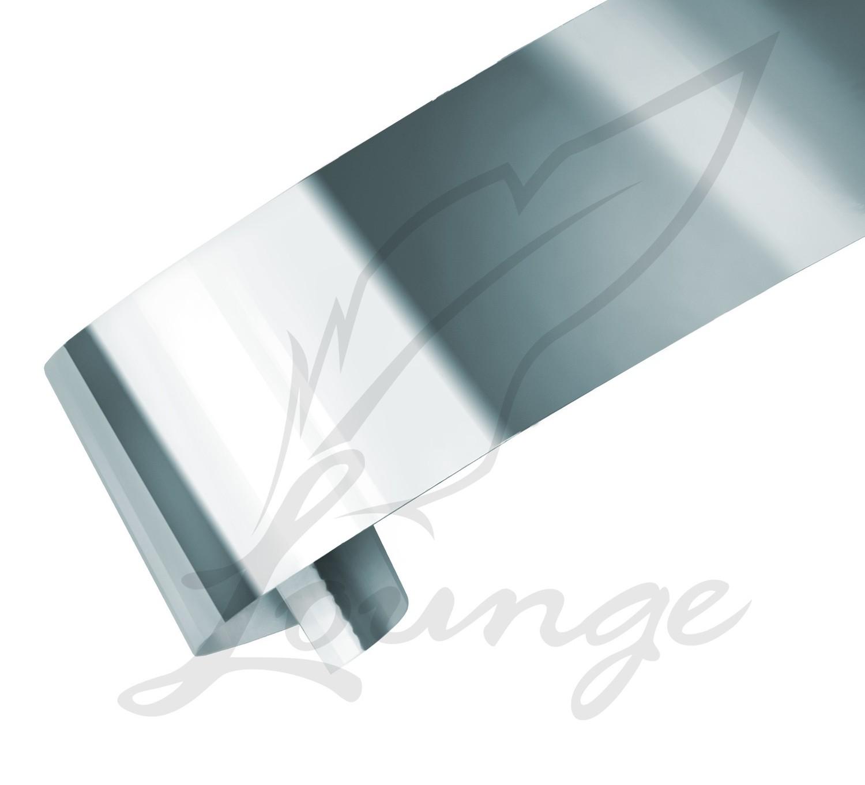 Nageldesign Folie Silber
