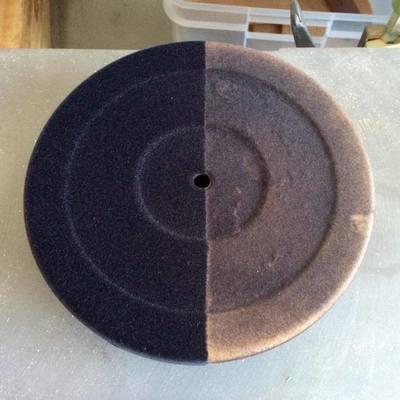 Beflockungsservice für Plattenteller