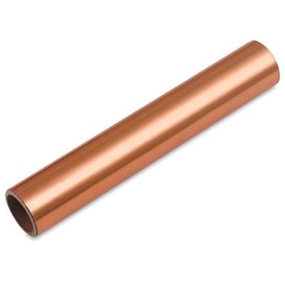 Copper Sheets 1m sheets. 0,1mm Thick x 30cm - 40cm Wide.
