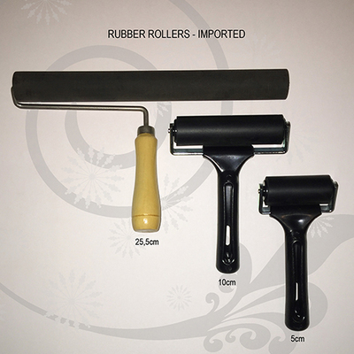 Rubber Rollers 10cm