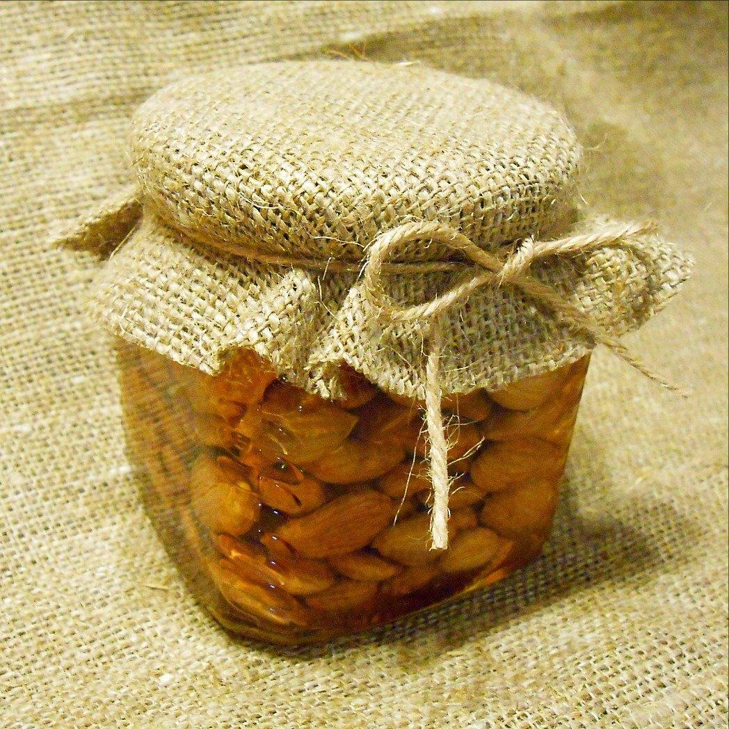 Абрикосовая косточка с мёдом, 250 мл.