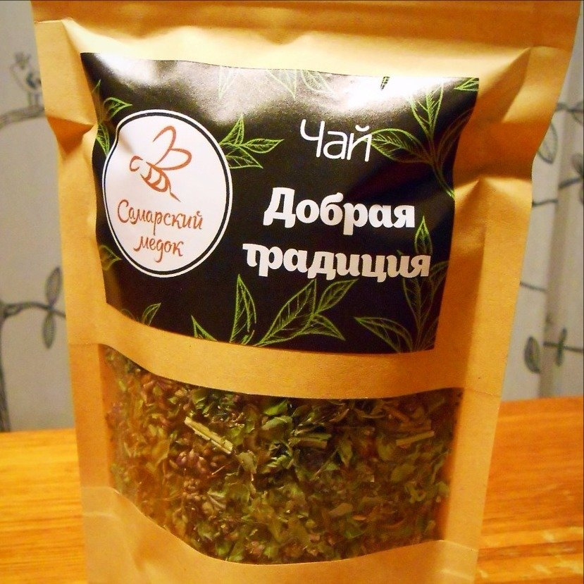 """Чай """"Добрая традиция"""", 50 гр."""