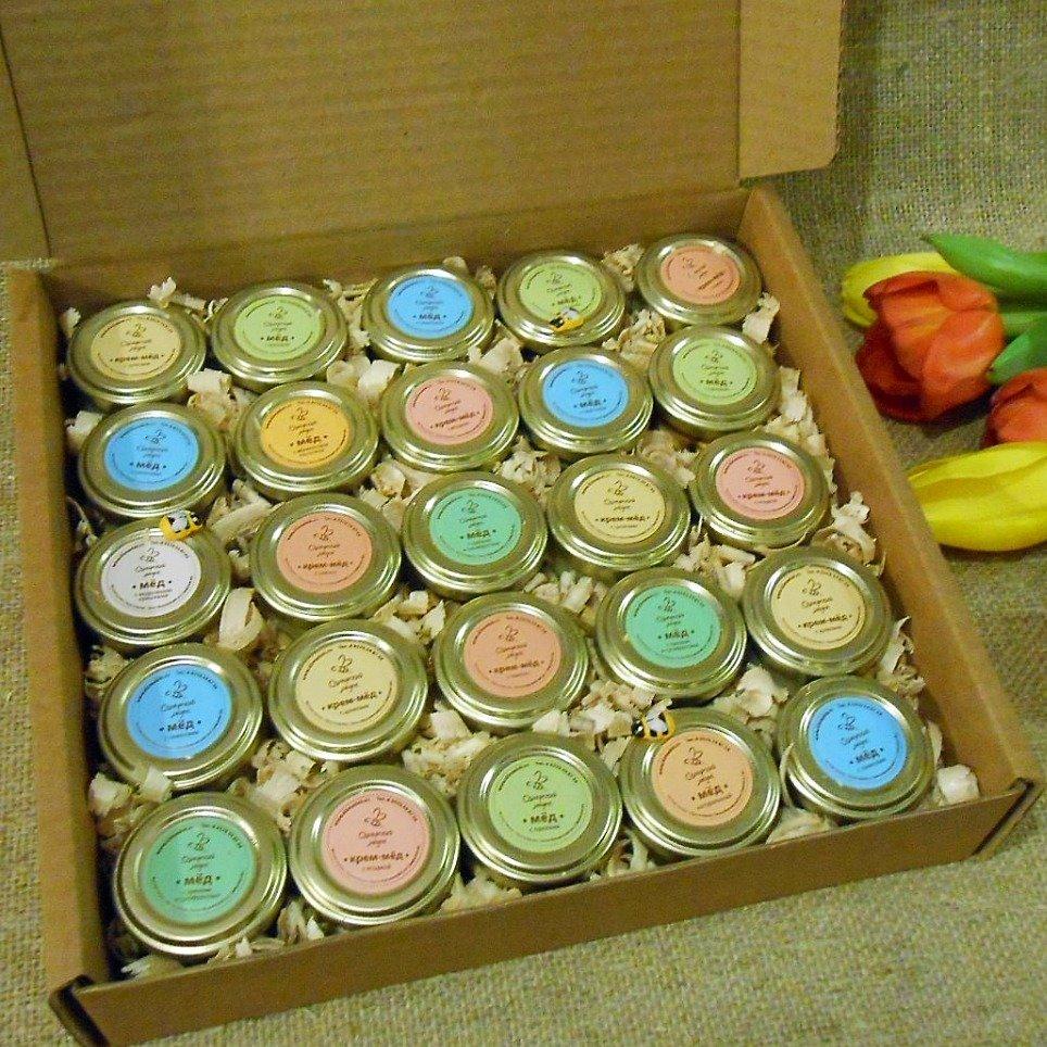 Подарочный набор (25 шт., ассорти: крем, орехи, семена)