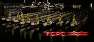 FGPC Christmas Lights Dragon Boat Tour