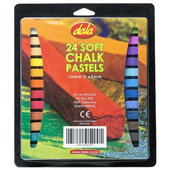Chalk Pastels Dala Set of 24