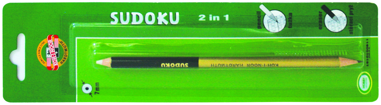 Pencils BL-Sudoku