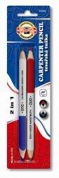 Pencils Carpenter Short Duo Koh-I-Noor 2pcs