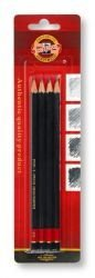 Pencils BL-Graphite Koh-I-Noor Set Of 4