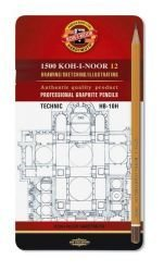 Pencil Graphite Technic Koh-I-Noor Set of 12