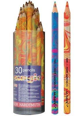 Pencils Magic Colour Mixed Koh-I-Noor Tub Of 30