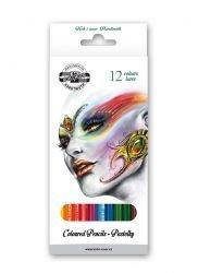 Pencils School Coloured Fantasy 12pc