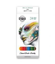 Pencils School Coloured Fantasy 24pcs