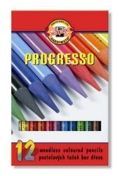 Pencils Woodless Coloured Set of 12
