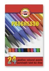 Pencils Woodless Coloured Set of 24 New