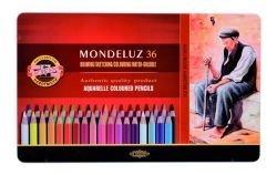 Pencils Aquarell Tin Crayon Koh-I-Noor Tin Of 36