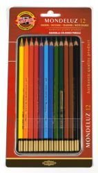 Pencils BL-Mondeluz (Aqua) Coloured Koh-I-Noor 12pc