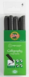 Marker Calligraphy Koh-I-Noor Set of 4