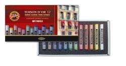 Pastels Soft Chalk Koh-I-Noor Set of 12