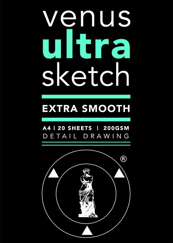Pad Venus Ultra Sketch A3 200gsm
