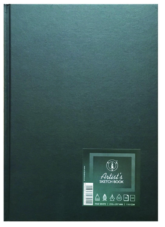 Sketchbook Artist Casebound A4 110gsm 48 Sheet