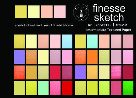 Pad Finesse Sketch A4 120gsm