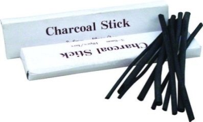 Charcoal Stick 6-8mm 6pc