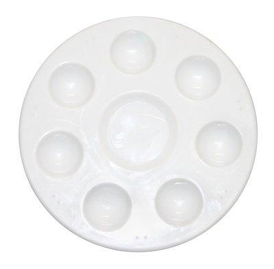 Plastic Palette 8 Well Round
