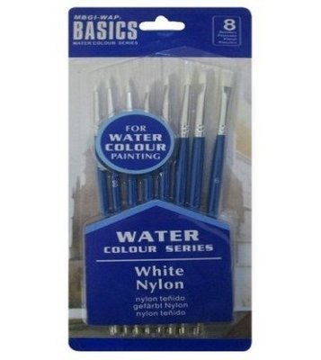 Brush Set Basics Watercolor 8pcs