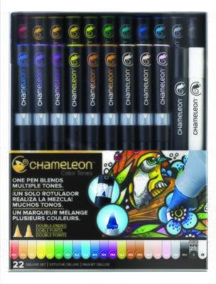 Chameleon 22 Pen Deluxe Set